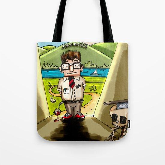 Enemy at the (Bill) Gates Tote Bag