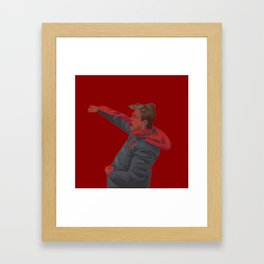Klopp Celebrating Framed Art Print