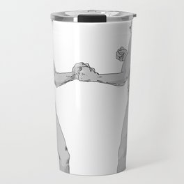 Old Timey Smash Bros Travel Mug