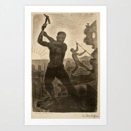 The Demolishers Art Print