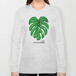 Monstera Long Sleeve T-shirt