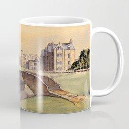 St Andrews Golf Course Scotland 18th Hole Coffee Mug