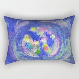 Abstract Mandala 222 Rectangular Pillow