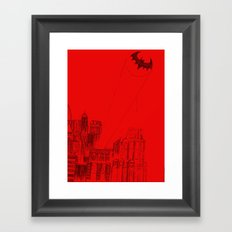 Gotham Framed Art Print