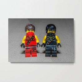 Kai and Cole Metal Print