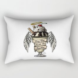 Sundae Fundae Rectangular Pillow