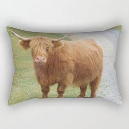 Scottish Cow of the Highlands Rectangular Pillow
