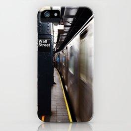 Wallstreet Subway iPhone Case