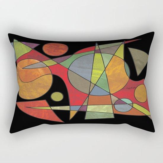 Abstract #304 Rectangular Pillow