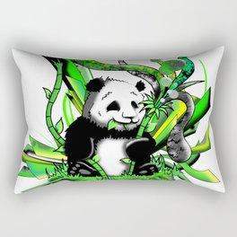 Urban Panda Rectangular Pillow