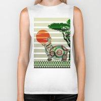 dreamer Biker Tanks featuring Dreamer by milanova