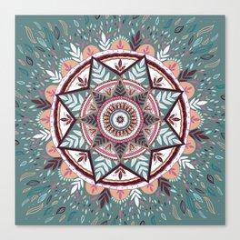 Mandala Star Canvas Print