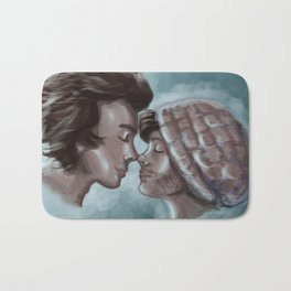 Two ghosts Bath Mat