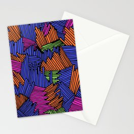 Happy Abstract Nr:05 Stationery Cards