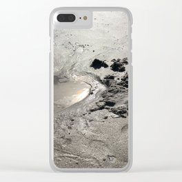 Wet Treasure Clear iPhone Case