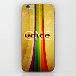 OneVoice iPhone Skin