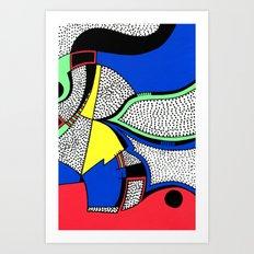 Print #8 Art Print