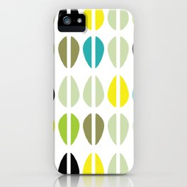 Cowrie Dots-Multi iPhone Case
