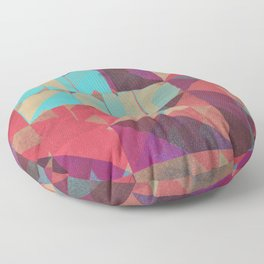 Risograph 1/Diamond Floor Pillow