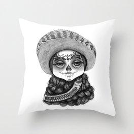 Zapatista Throw Pillow