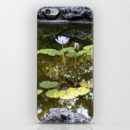 Lily Pad Circle iPhone Skin