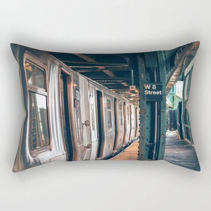 W8 street metro Rectangular Pillow