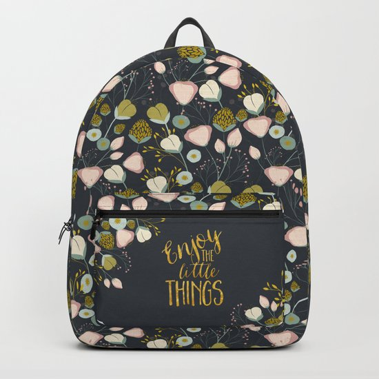 Enjoy the Small Things Backpack