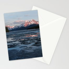 Lake Maligne Stationery Cards
