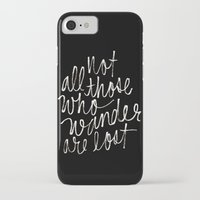 tolkien iPhone & iPod Cases featuring J. R. R. Tolkien quote by molly ennis