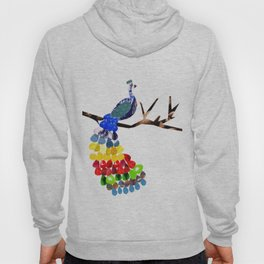 pavo real Hoody