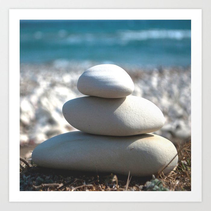 Balance Rocks Zen Art Print By Xiariphoto Society6