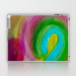 Bright Spirals Laptop & iPad Skin