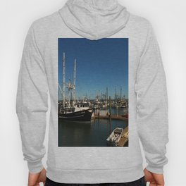 Westport Harbor Scene Hoody