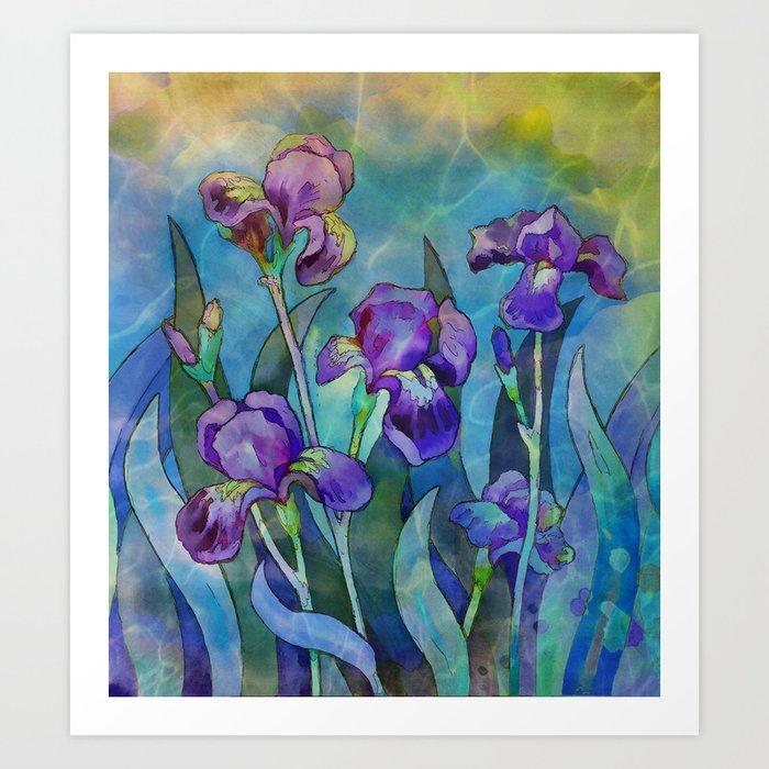 Fantasy Irises by CatyArte