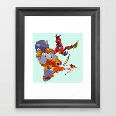 Battle Beasts - Trio 2 Framed Art Print