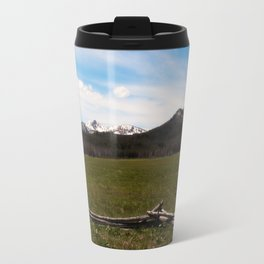 mountains. Travel Mug