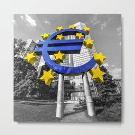EU Bank  Metal Print