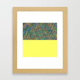 kombinat Framed Art Print