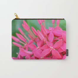 Pink Petals CR Carry-All Pouch
