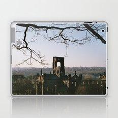 Kirkstall Abbey from the hill... Laptop & iPad Skin