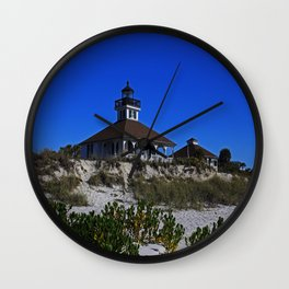 Boca Grande Lighthouse IV Wall Clock