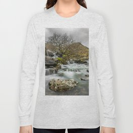 Lone Tree On The River Long Sleeve T-shirt