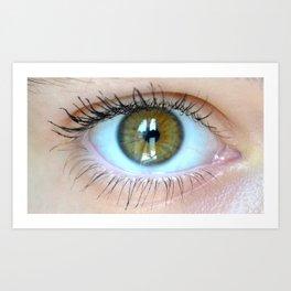 Young Eye- A Art Print