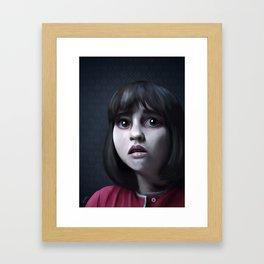Janet Framed Art Print
