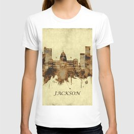 Jackson Mississippi Cityscape T-shirt