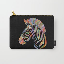 Fantasy Zebra Carry-All Pouch
