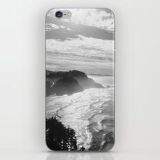 Cape Lookout - Black & White iPhone & iPod Skin