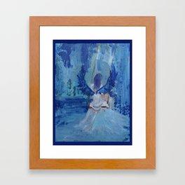 Water fairy Framed Art Print