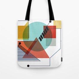 Bauhaus Kandinsky Modern Art Tote Bag