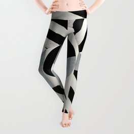 Abstraction_Geometric_SHAPES Leggings